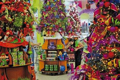 Hora de decorar para navidad y aprovechar los descuentos - Decoracion navidena para comercios ...