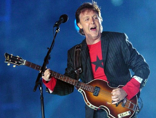 Paul McCartney y Led Zeppelin en inauguración de Juegos Olímpicos. Paul McCartney. ARCHIVO.
